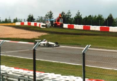 BMW-Williams während des Qualifying