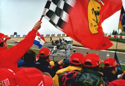 Die Fahrerparade