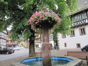 Brunnen in Alpirsbach