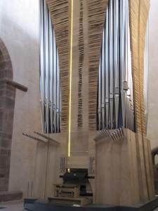 Fahrbare Orgel in Kloster Alpirsbach