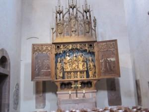 In der Klosterkirche Alpirsbach