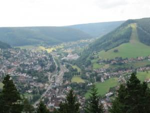 Aussicht Baiersbronn