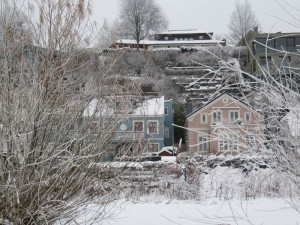 Blankenese Häuser