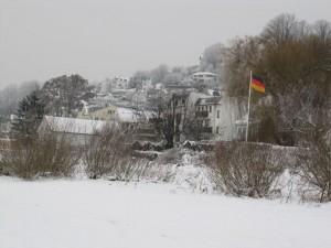 Blankenese im Schnee