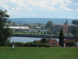 Ausblick vom Jenisch Haus