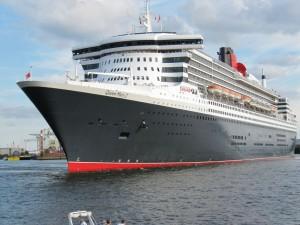 Auslaufen Queen Mary