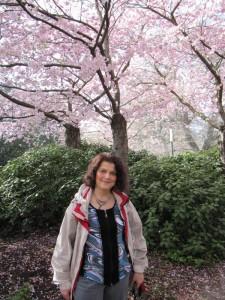 Sabine und ihre Kirschblüten